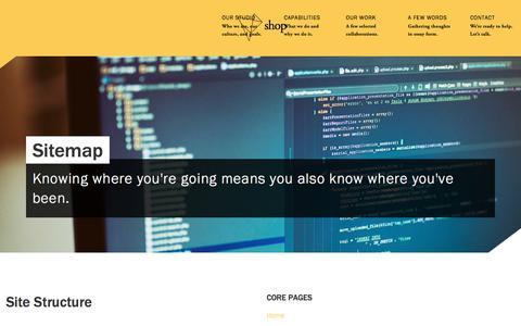 Screenshot of Site Map Page seeyouinshop.com - Sitemap - shop - captured Oct. 4, 2017