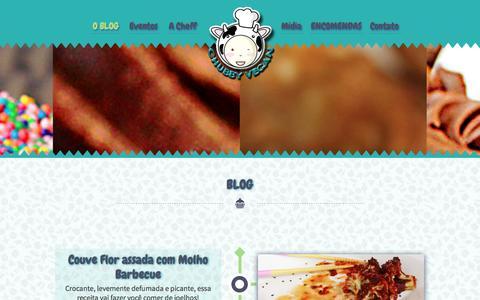 Screenshot of Blog chubbyvegan.net - Blog | Chubby Vegan - captured Oct. 30, 2014