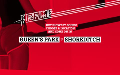 Screenshot of Home Page moveyourframe.com - Move your frame, at Frame, Shoreditch & Queen's Park - captured Sept. 18, 2014