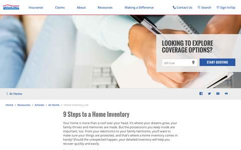 Create a Home Inventory | American Family Insurance