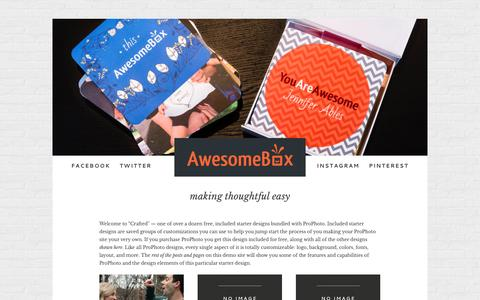 making thoughtful easy » AwesomeBox