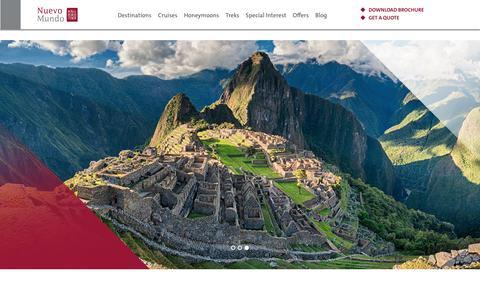 Screenshot of FAQ Page nuevomundo.ie - FAQs - Nuevo Mundo - captured Nov. 2, 2017