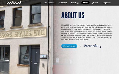 Sheffield Web Development - Evoluted