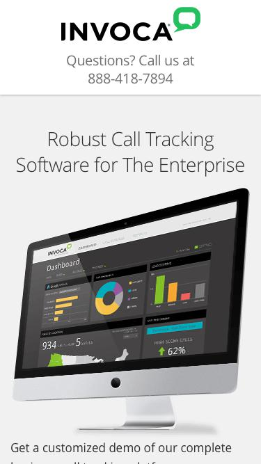 Call Tracking Demo | Invoca