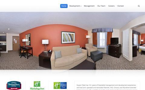 Screenshot of Home Page kandkhotelgroup.com - K & K Hotel Group | - captured Feb. 12, 2016