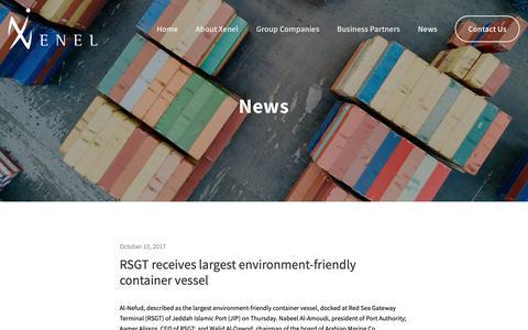 Screenshot of Press Page xenel.com - News — Xenel - captured Nov. 15, 2018