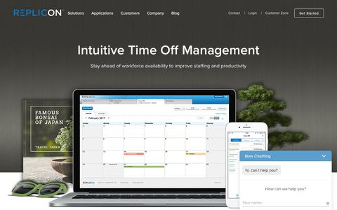 Time Off Software: Automated Absence Management - Replicon