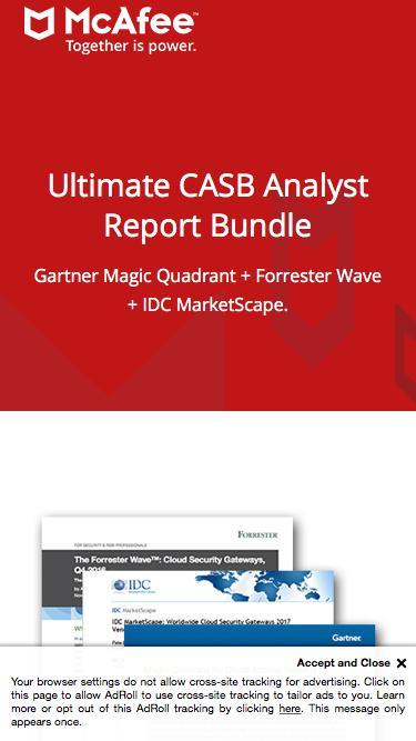 CASB Analyst Report