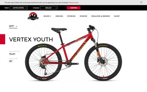 Vertex Youth | Rocky Mountain Bicycles