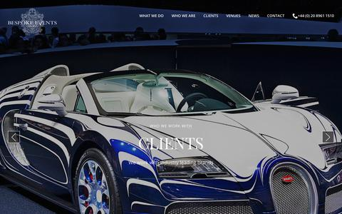 Leading Clients From Well Known Brands in London | Bespoke