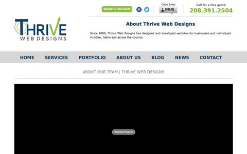 Our Boise Web Design Team | Thrive Web Designs of Idaho