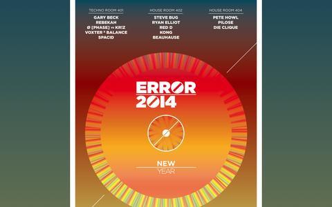 Screenshot of Home Page errorny.be - Error 2014 - captured Jan. 28, 2015