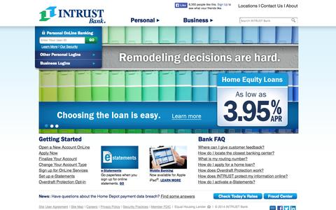 INTRUST Bank | Home