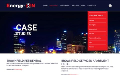 Screenshot of Case Studies Page energy-on.com.au - Case Studies | Energy-On - captured Nov. 24, 2016