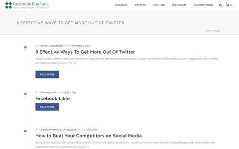 blog - Facebook Buy Fans