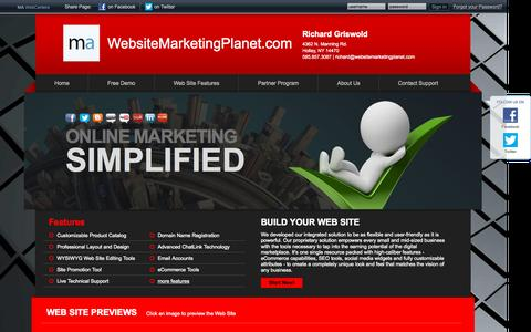 Screenshot of Home Page providentrevenue.com - Website Marketing Planet - captured Sept. 17, 2015
