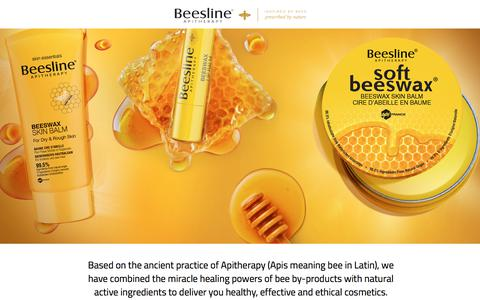 Screenshot of Site Map Page beesline.com - Inspired by Bees, Prescribed by Nature | Beesline Saudi Arabia - captured Oct. 10, 2017