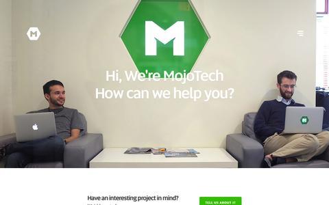 Contact | MojoTech - Providence, New York, Boulder