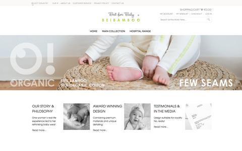 Screenshot of Login Page beibamboo.com - B E I B A M B O O - captured Sept. 13, 2014