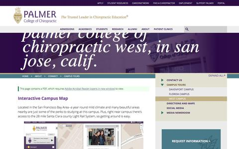 Palmer College of Chiropractic West, in San Jose, Calif.