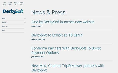 News & Press Archive | DerbySoft.com