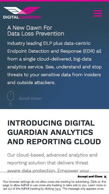 Enterprise IP & DLP Software | Digital Guardian