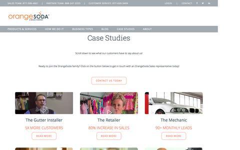 OrangeSoda  Case Studies