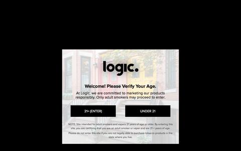 Screenshot of About Page logicvapes.us - About Logic | Best Vaporizers & E Cigs Online | Logic Vapes - captured July 6, 2018