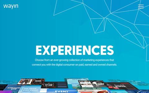 Wayin | Build Interactive Marketing Campaign Experiences