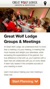 New Landing Page Great Wolf Lodge