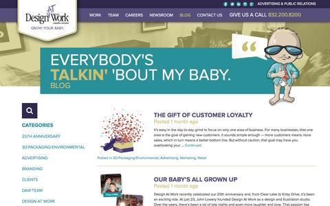 Houston Advertising Marketing Blog   Design At Work