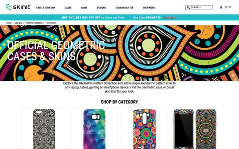 Geometric Designs For Your Phone, Laptop or Gaming Device | Skinit