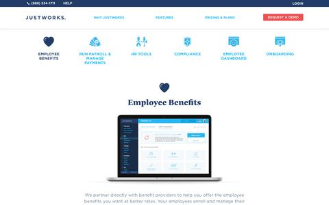 Comprehensive Employee Benefits and Perks | Justworks