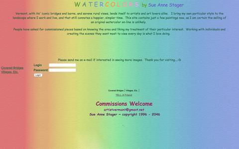 Screenshot of Login Page artistvermont.com - <!-- This tag gets the Store Name as defined in Settings->Store Contact Info --> - captured April 19, 2017