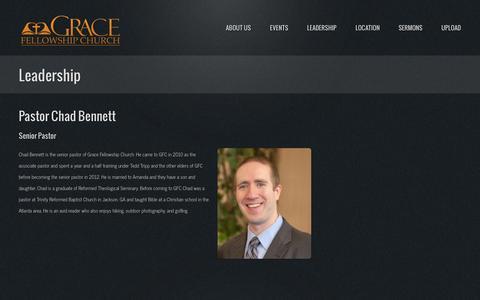 Screenshot of Team Page gfchazleton.org - People | Grace Fellowship Church - captured Oct. 3, 2014