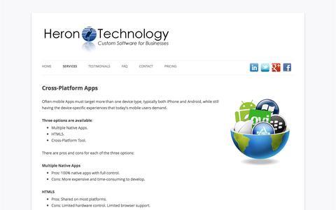 Cross-Platform Apps