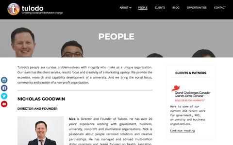 Screenshot of Team Page tulodo.com - People – Tulodo - captured July 21, 2018
