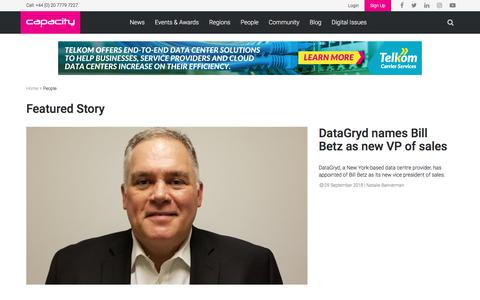 Screenshot of Team Page capacitymedia.com - Interviews and appointments in the telecoms industry - captured Sept. 23, 2018