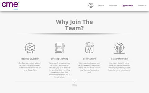 Screenshot of Jobs Page gotocme.com - Jobs   CME - captured July 8, 2017