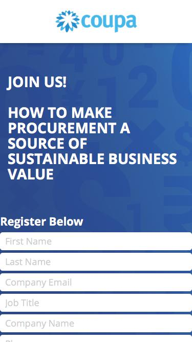 How to Make Procurement a Source of Sustainable Business Value