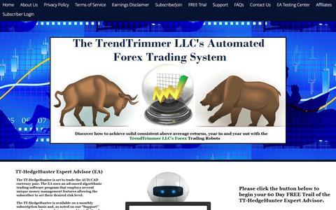 Screenshot of Trial Page trendtrimmer.com - TrendTrimmer.com  » FREE Trial - captured Dec. 16, 2016