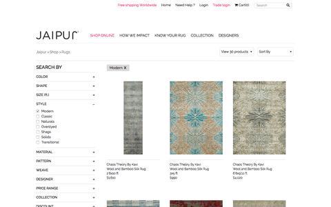 Buy Modern Rugs and Carpets | Designer Rugs | Jaipur Rugs