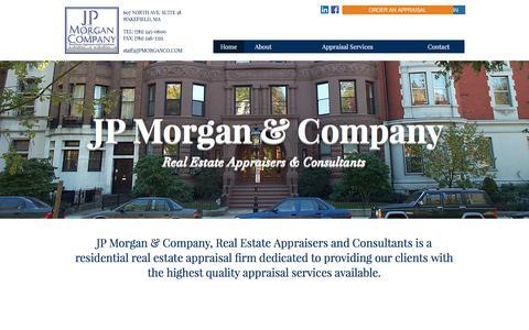 JP Morgan & Company Real Estate Appraisers & Consultants / MA