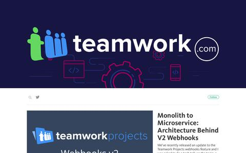 Screenshot of teamwork.com - Teamwork Engine Room - captured Sept. 13, 2017