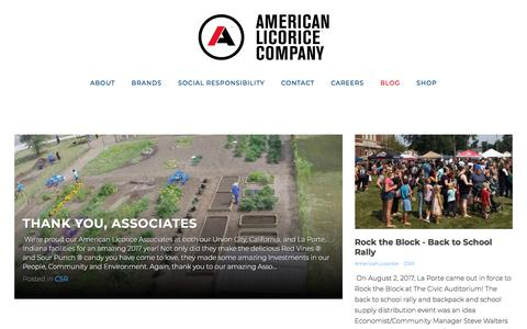 Screenshot of Blog americanlicorice.com - Grids - American Licorice Blog - captured Sept. 24, 2018
