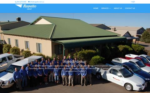 Screenshot of About Page rapallo.com.au - About Us - Rapallo Group - captured Feb. 23, 2016
