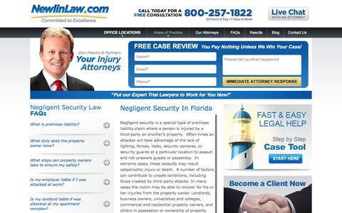 Negligent Security in Florida - Premises Liability Claims
