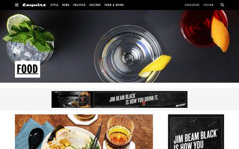 Food and Recipes for Men
