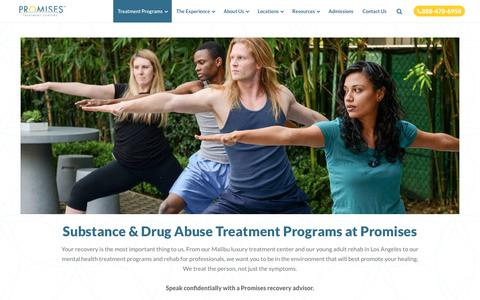 Substance & Drug Abuse Treatment Programs | Promises
