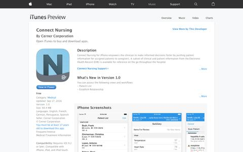 Connect Nursing on the App Store